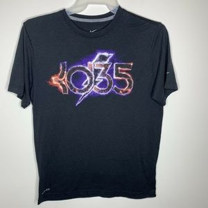 Nike Mens L Black KD35 Graphic Tee Short Sleeve